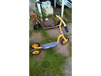 2 Childrens scooters in need of TLC