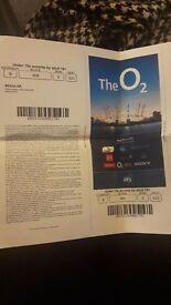 1x justin bieber ticket for 29th November