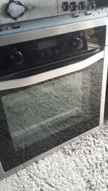 Built in oven and convection hob John Lewis hardly used
