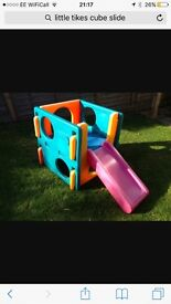 Little tikes cube slide