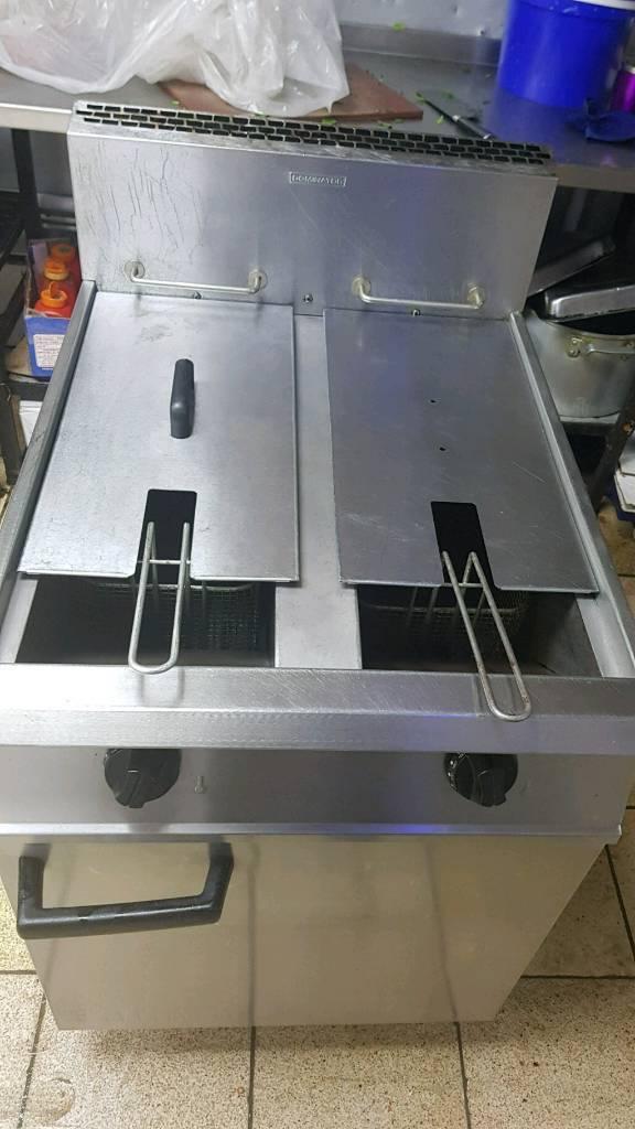 Gas Twin tank Fryer