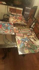 Comic book canvous
