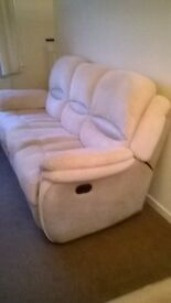 I am selling my Sofa.. It is a large double recliner fabric in very good condition