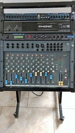 Absolute Bargin Complete PA System for sale