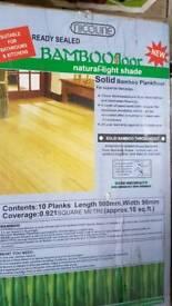 Bamboo semi sold wood flooring