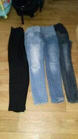 Size 8 maternity clothes