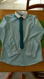 Boys smart shirt and tie