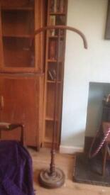 Vintage wooden freestanding coat stand