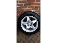 4 Genuine Mercedes Wheels and Winter Tyres for ML,Viano,Vito