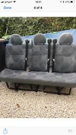 Bench seats ford transit