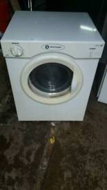 WHITE KNIGHT TUMBLE 3KG DRYER 3 MONTHS GUARANTEE