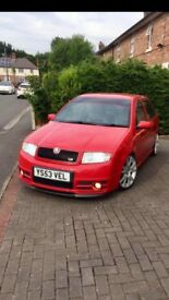 Skoda vrs modified beast