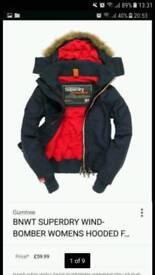 Superdry Men's pop zip Hoded size is XL
