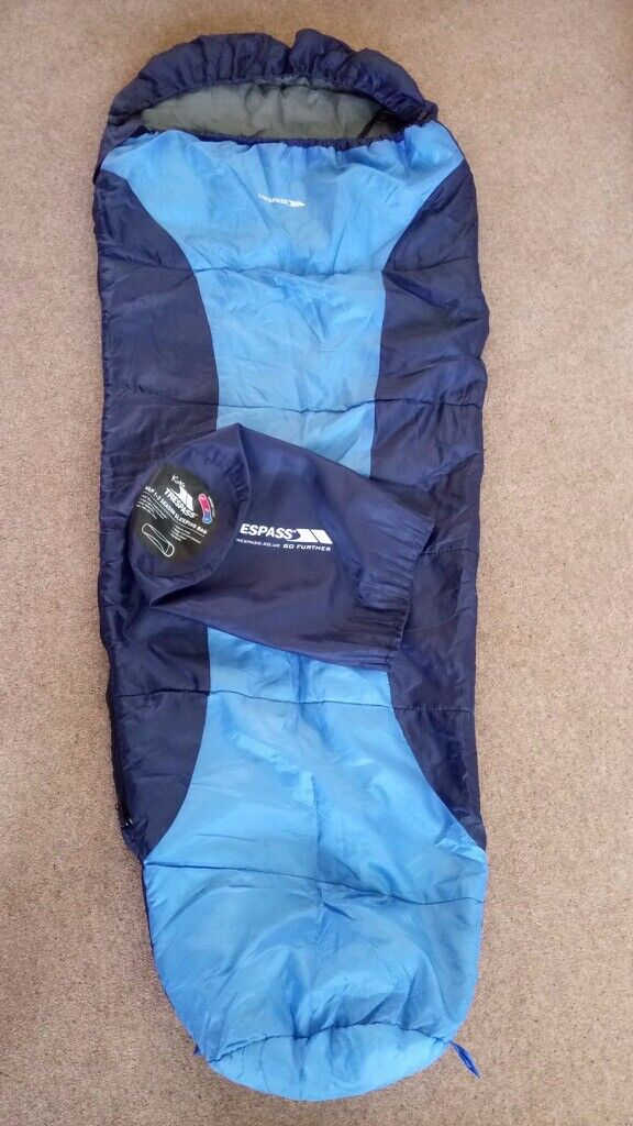 competitive price ceab4 7a330 Childs Tresspass sleeping bag with stuff sack. | in Romsey, Hampshire |  Gumtree