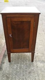 Vintage Cabinet - wooden telephone unusual occasional