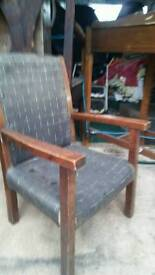 Vintage childs chair.