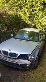 E46 BMW 2004 320d Spares or Repair