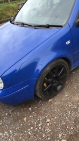 Mk4 golf jazz (jasmine) blue wings