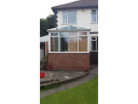 Conservatory - without door access to garden