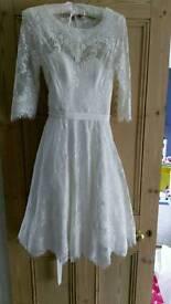 Phase eight wedding dress size 10