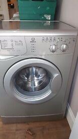 Indesit washing machine Silver