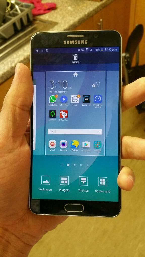 Samsung Galaxy Note 5 32Gb Black Unlock Excellent
