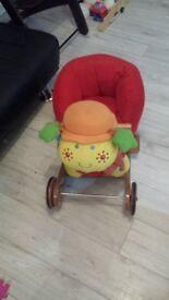 Toy lady-bug