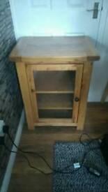 Solid oak unit
