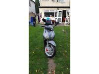 scooter for sale low milage and good condition with full service history.