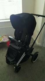 Cybex priam lux seat black beauty
