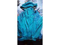 Trespass girls 3 in 1 Waterproof Jacket with Inner Fleece