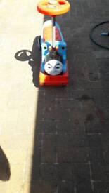 Thomas sit n ride scooter