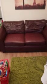 Marks and Spenser Leather sofa