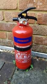 2kg powder fire extinguisher brand new