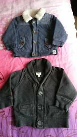 Ted baker jackets 6-9 months ex condition