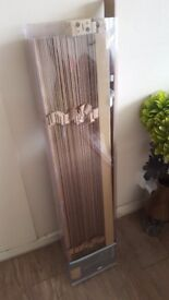 Wood curtain