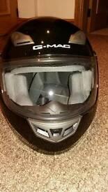 G-MAC motor cycle helmet size medium