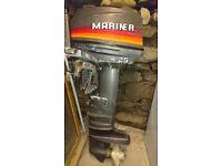 Mariner Yamaha 25hp ouboard