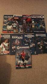Glasgow Rangers Official Annuals 2001-2009
