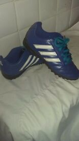2 pairs boys Adidas trainers size 1.