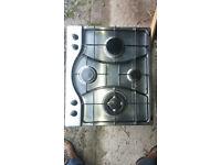 Hotpoint GF640TX 4 Burner Gas Hob 60cm Wide