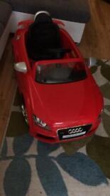 Audi tt rs plus electric car