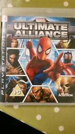 Marvel ultimate alliance collectable