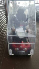 Mobility scooter with canopy 8mph 3mth warranty