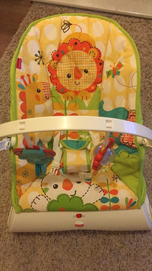 Fisher Price jungle themed baby bouncer