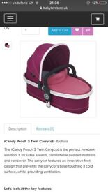 I Candy Blossom Carrycot