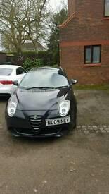 Alfa Romeo Mito, 2009, 1.4, 65000 miles, alloys and bluetooth