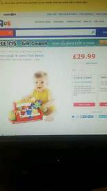 Fisher price laugh an learn tool bench