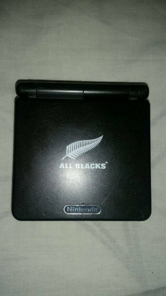 RARE ALL BLACKS GAMEBOY ADVANCE SPCHARGER, NEW BATTERYERAGON GAMEin Wantage, OxfordshireGumtree - Hello, i have for sale thisAll Blacks Gameboy Advance sp Comes with new battery, charger and eragon game.There is a scratch on the screen, please see pics, but this would not phase a serious collector.This is a really rare gameboy, please Google to...
