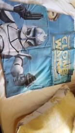 Star wars single duvet cover set